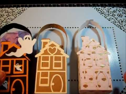 Sizzix Gingerbread Bag Die - How to Make Bags and Cards