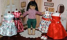 Retired American Girl Doll Ivy Ling & New Wardrobe, EUC! Perfect for a gift!