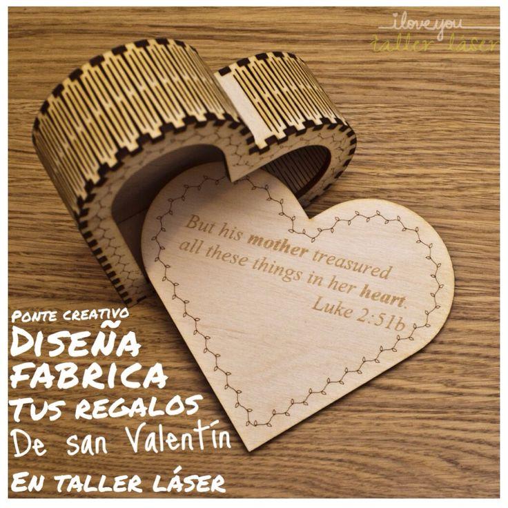 Por que no diseñar tu propio regalo de san Valentín ? Contáctanos y nosotros te apoyamos #tallerlaser #cortelaser #hazloposible #makeit  #personaliza