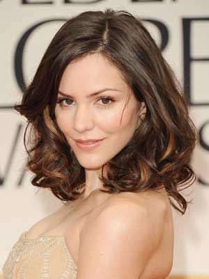 Great medium length hairstyle - Katharine Mcphee