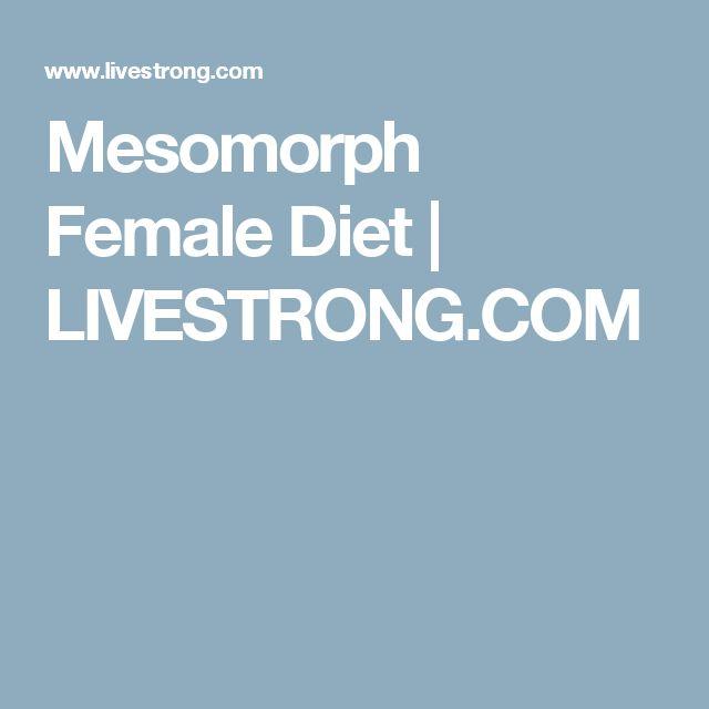 Mesomorph Female Diet | LIVESTRONG.COM