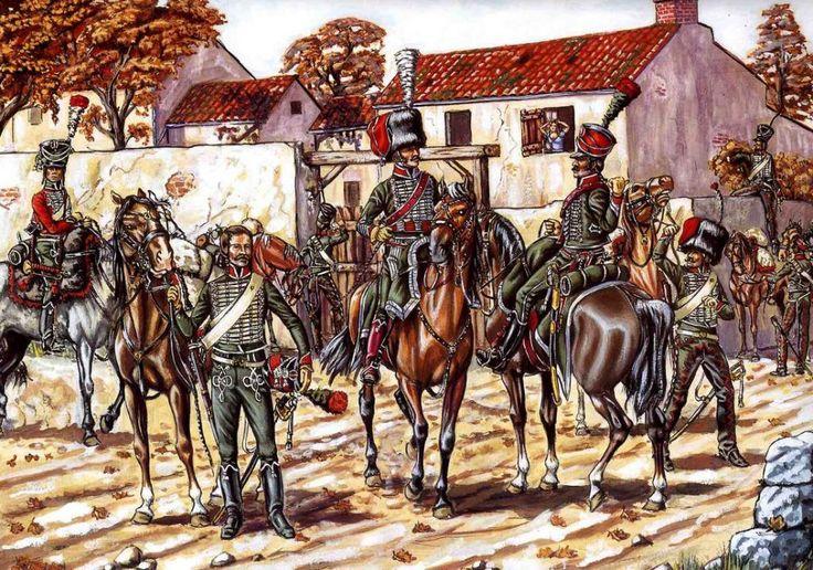 Les cavaliers de la Grande Armée :: 1er chasseurs