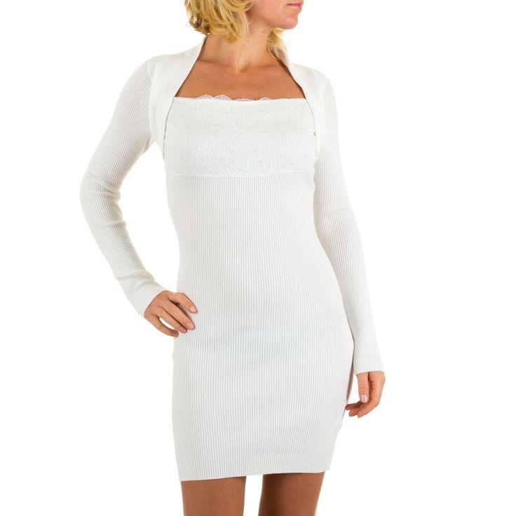 19,99 € - Geripptes Strass Kleid