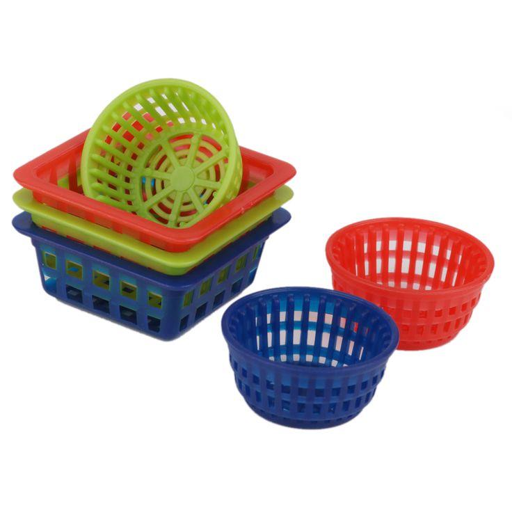 Aliexpress.com: Comprar 6 unids 1:12 Dollhouse Miniatura Cestas de Almacenamiento de Frutas Verduras Clásico Muebles de Juguete Juego de Simulación de Cocina de Juguete para Niños de Regalo de miniature basket fiable proveedores en Children Education Store