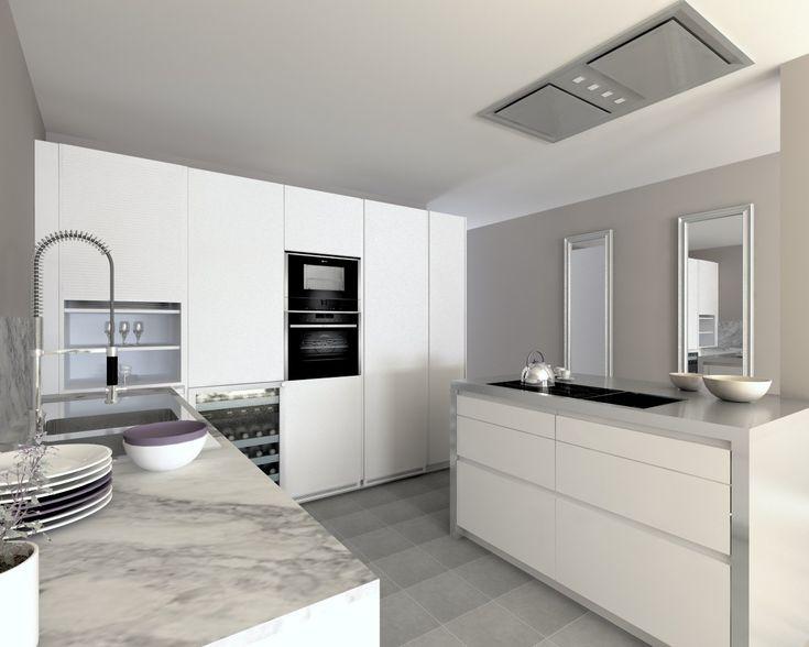 M s de 25 ideas incre bles sobre cocina de granito blanco - Encimera granito blanco ...
