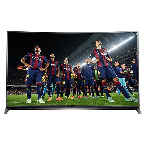 """Buy Panasonic Viera TX-65CR852B LED Curved 4K 3D Smart TV, 65"""" with Freeview HD/freesat HD and Built-In Wi-Fi Online at johnlewis.com"""