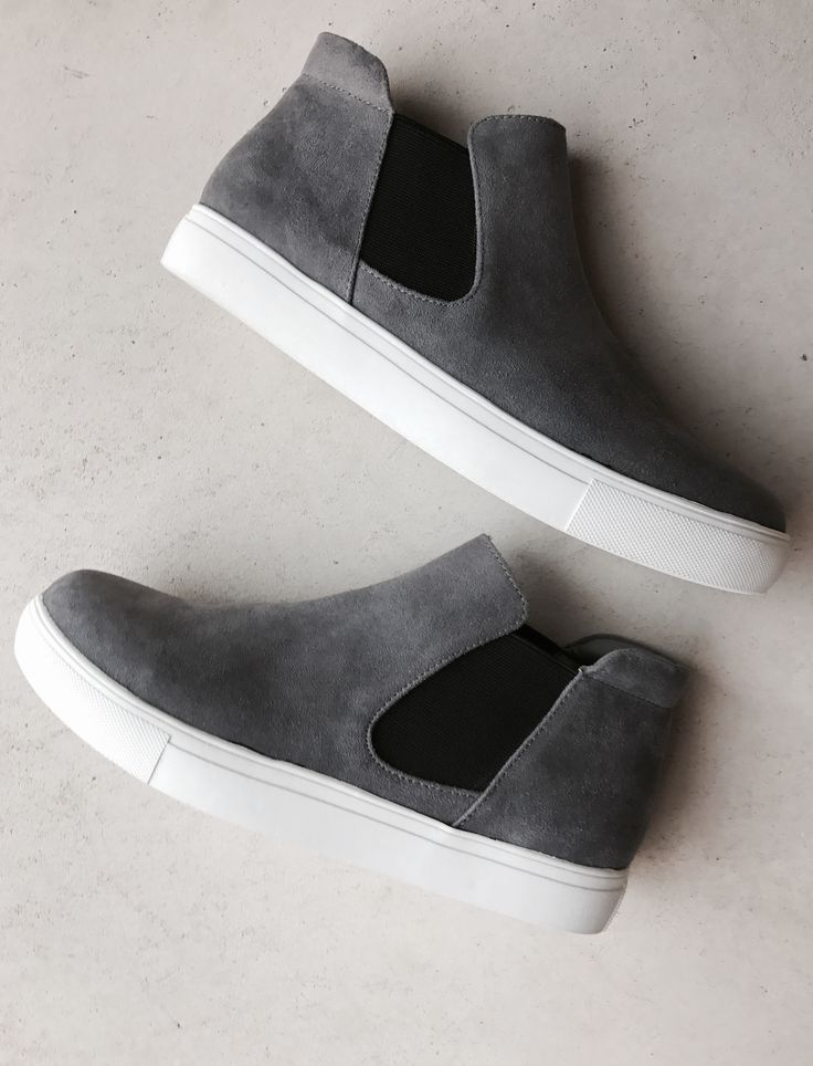 Faux suede Harlan sneaker by Coconuts - Matisse Fit: True to size