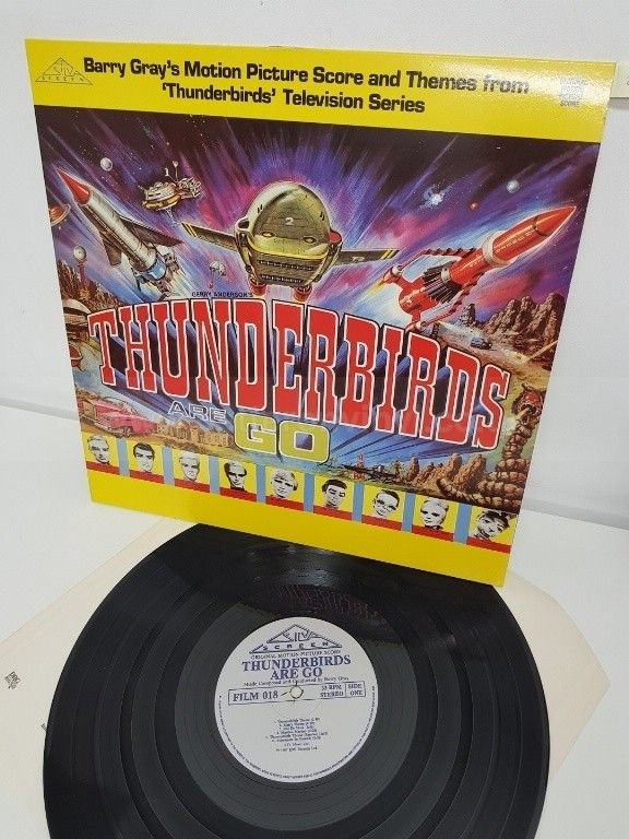 BARRY GRAY, gerry anderson's thunderbirds are go, FILM 018, 12 - NEW IN FOR December 2017