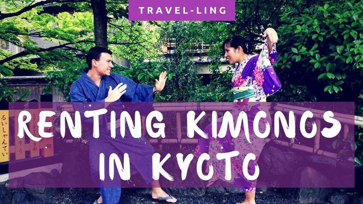 Renting Kimonos and Yukatas in Kyoto