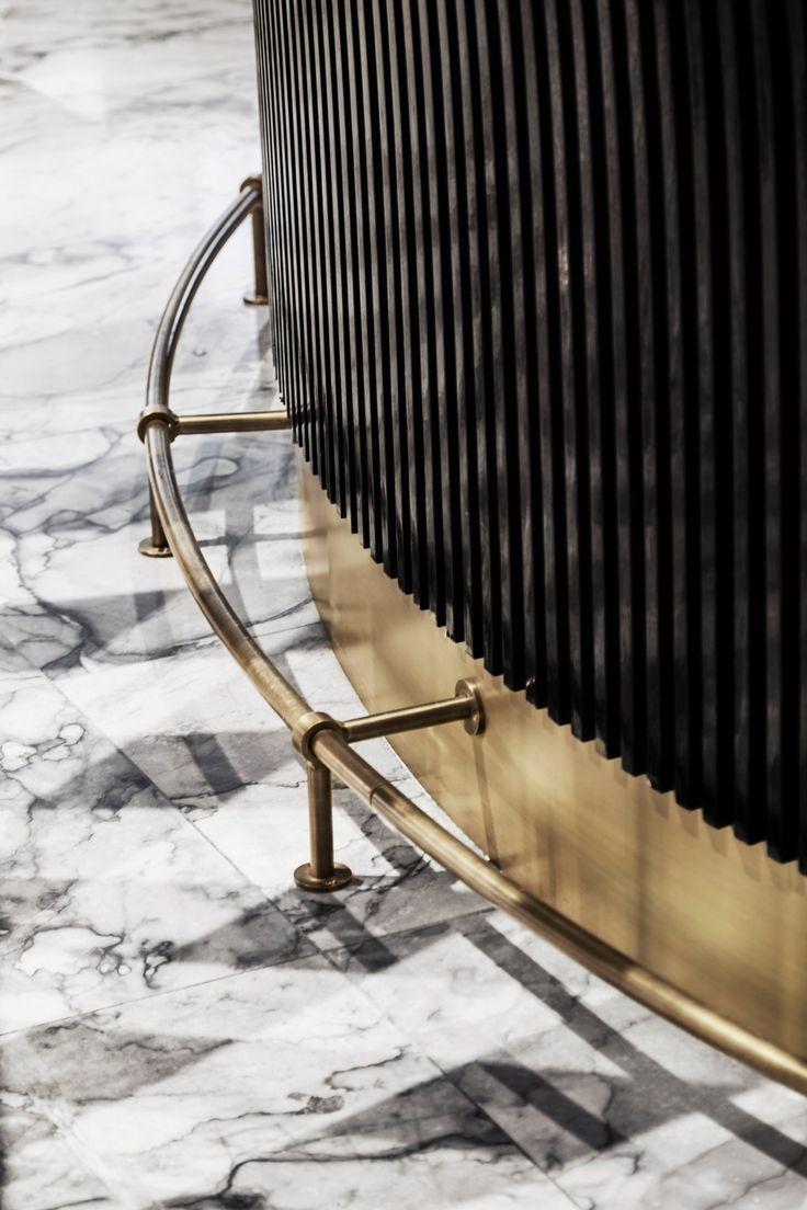 Space Copenhagen renovates Arne Jacobsen hotel using updated classic furniture