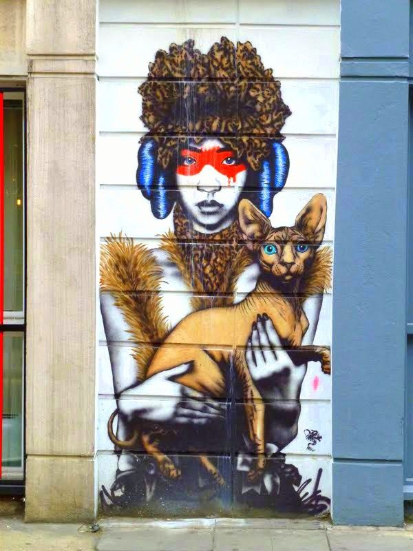 Fin DAC dans le East End londonien - www.street-art-avenue.com