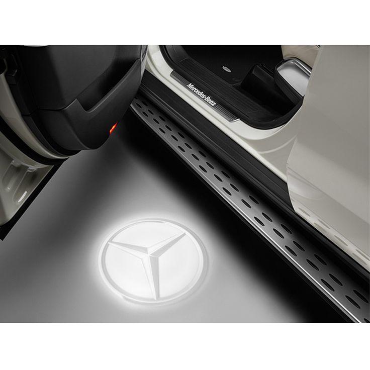LED Projektor Mercedes Stern transparent - 129 EUR