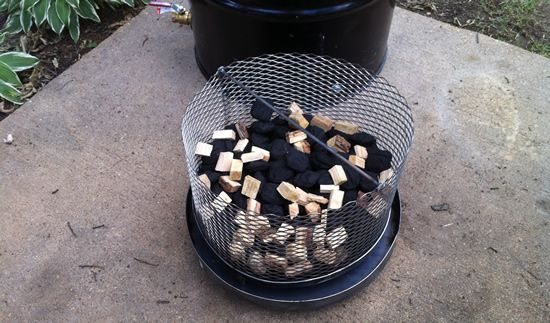 ugly drum smoker UDS fire basket burning out drum