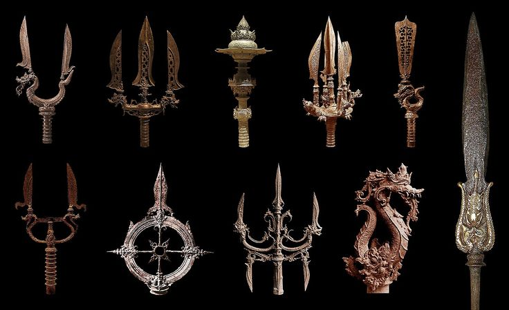 Ceremonial weapons of the Majapahit Empire, Java