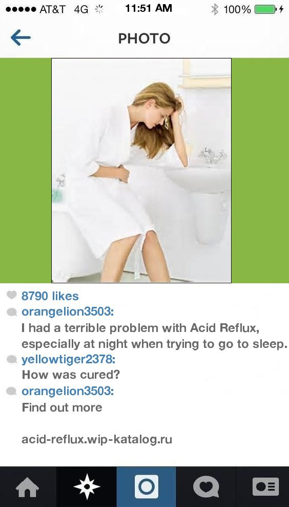 Anal acid reflux and throat problems
