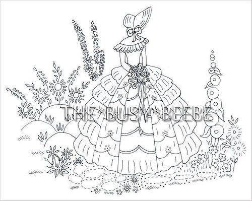 354 best images about motywy on pinterest princess for Southern belle coloring pages