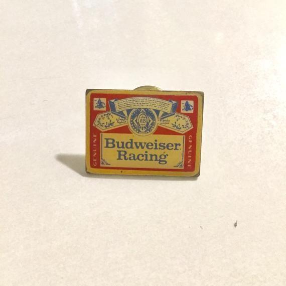 pinback Budweiser Beer Botttle lapel pin set of 5