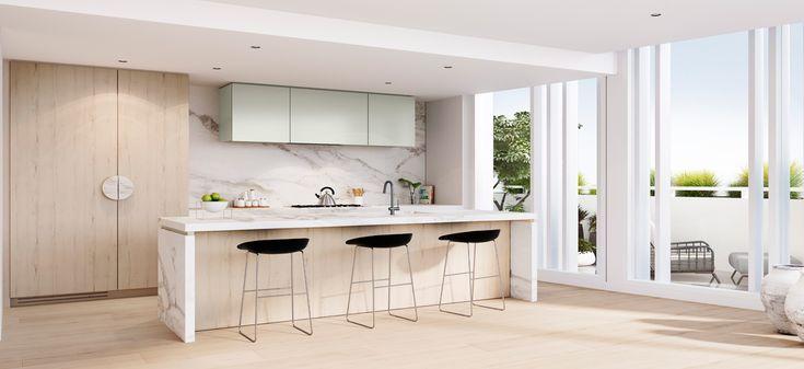 bayside apartment pure hampton kitchen luxury living melbourne