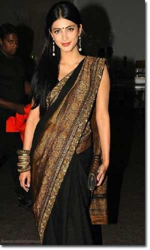 Black Saree - Bring out the Elegance in You!