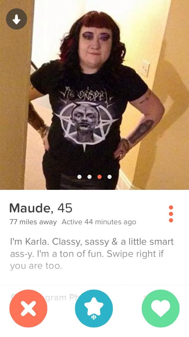 Vote now for your favorite Tinder profile photos. Check out the hottest, funniest, strangest and even the worst Tinder profiles found online! A picture is worth a thousand words so if you find a worthy Tinder profile please screen capture and share it with us!