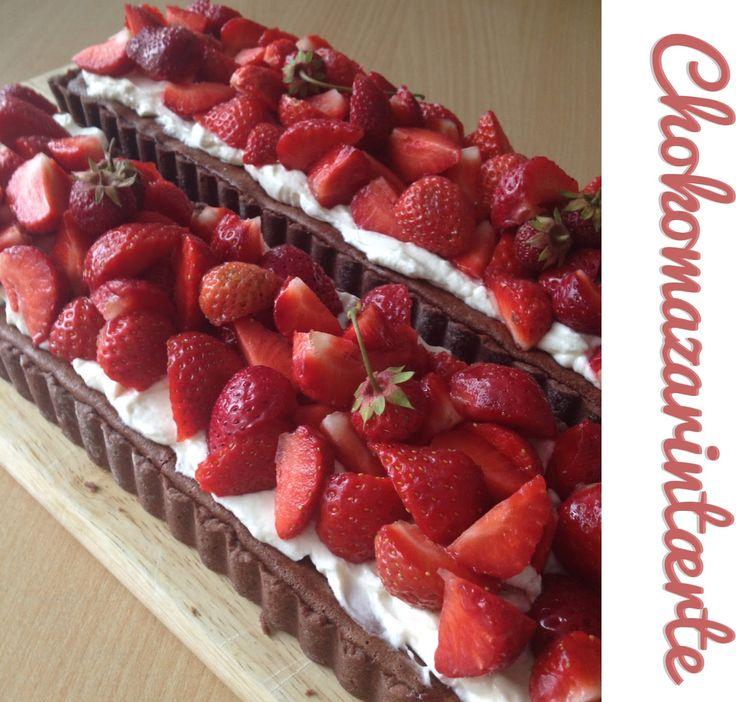 Inden jeg gik på ferie, havde jeg lovet kollegaerne at jeg ville give kage,   og da jeg havde fødselsdag dagen efter min ferie startede,   ...
