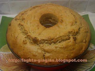 Τα φαγητά της γιαγιάς - Κέικ με ταχίνι και σταφίδες νηστίσιμο