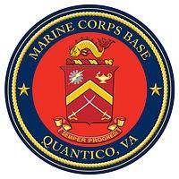 Marine Corps Base Quantico seal