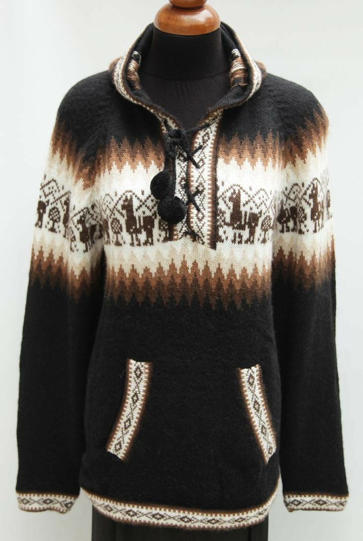 Alpaca Sweaters & Cardigans:
