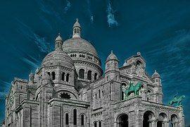Sacré Coeur, París, Iglesia, Francia