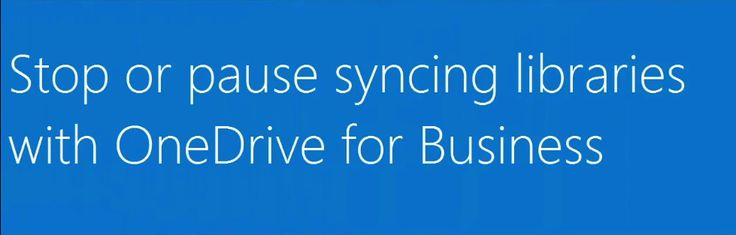 how to stop syncing onedrive