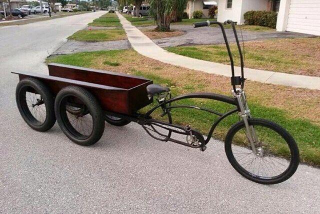 Unique Bicycle - very cool idea!