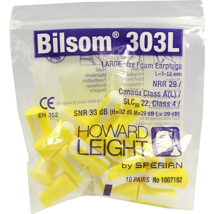 BILSOM 303 large Gehörschutzstöpsel:   Packungsinhalt: 20 St PZN: 03646961 Hersteller: Axisis GmbH Preis: 1,84 EUR inkl. 19 % MwSt. zzgl.…