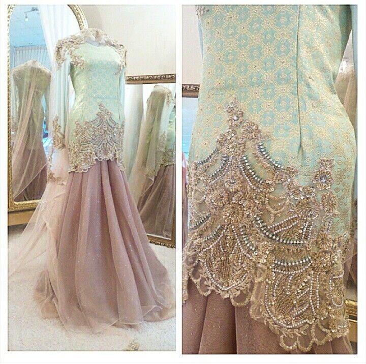 #songket #dress #wedding