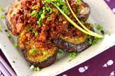 ナスの肉みそがけ【E・レシピ】料理のプロが作る簡単レシピ/2005.05.09公開のレシピです。