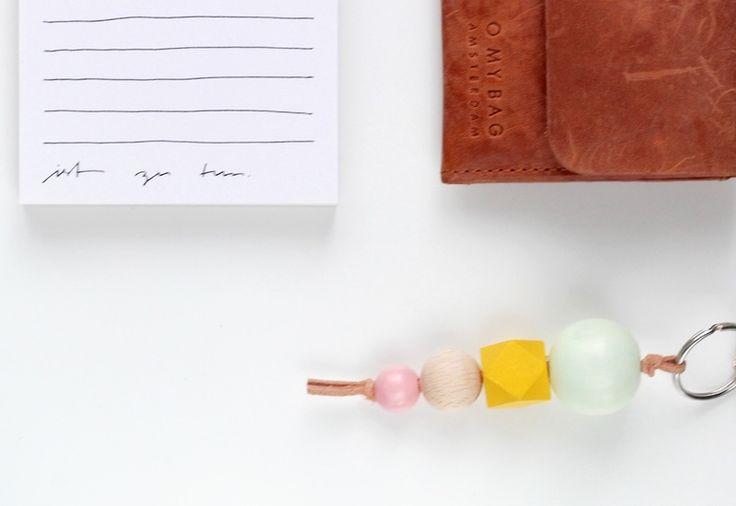 Schlüsselanhänger *Spring* : Pastel und Sonneng... von Petite Pauline auf DaWanda.com