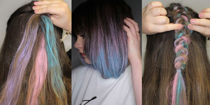 4 gorgeous ways to use coloured hair sprays