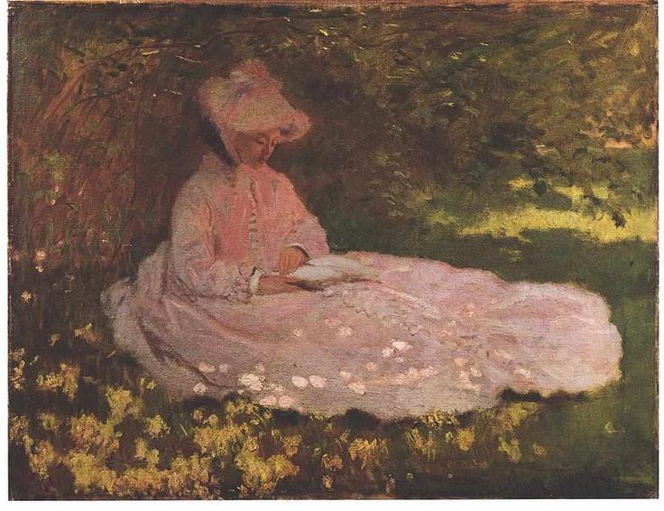 Monet - Frühling  Springtime