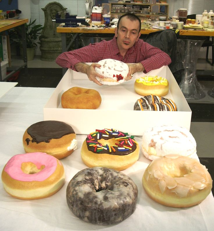 Donuts, giant donuts