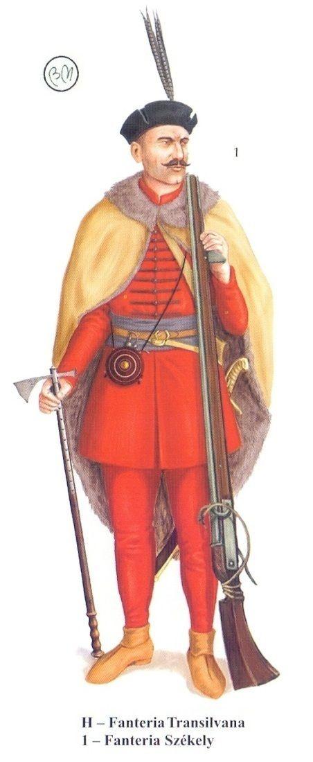 Szekler infantry, Long Turkish War (1593-1606)