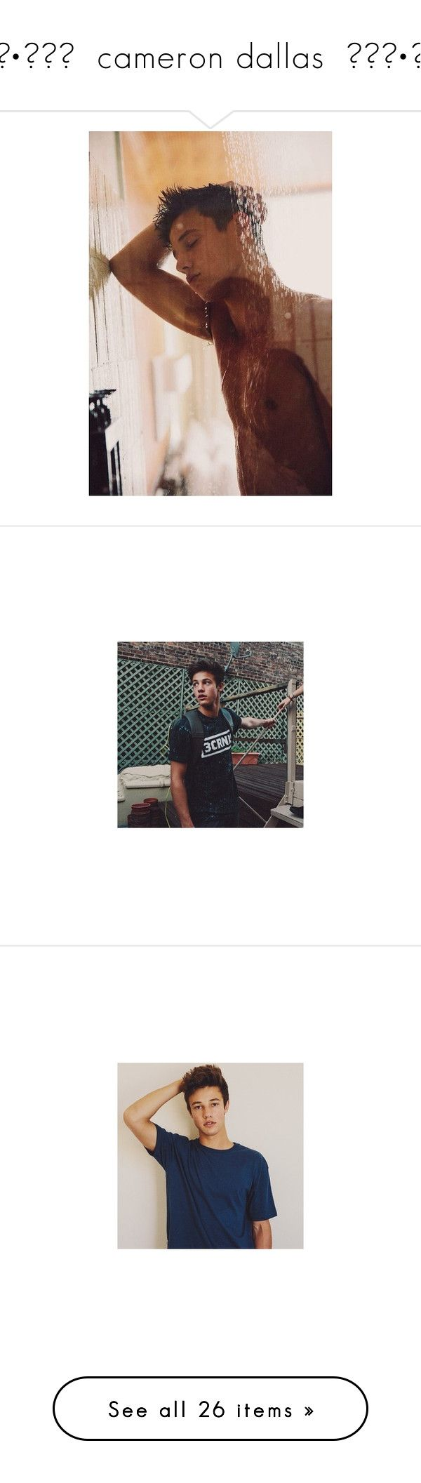 """◦•●◉✿ cameron dallas ✿◉●•◦"" by c-osmickids ❤ liked on Polyvore featuring cameron dallas, cameron, magcon, pictures, boys, guys, youtubers and magcon boys"