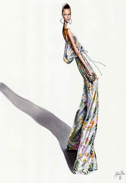Arturo Elena #fashion #illustration