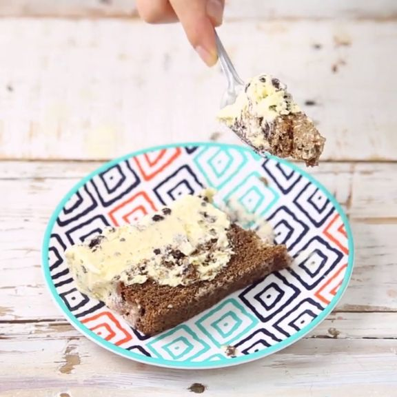 You don't need a party to get ice cream cake. Mix it up with a layer of Cookies 'n Cream.