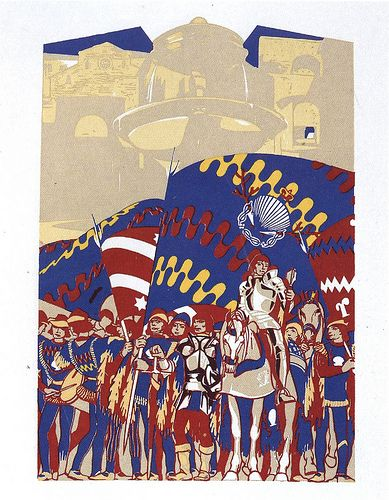 Nobile Contrada del Nicchio - Siena - Duilio Cambellotti 1932 #TuscanyAgriturismoGiratola