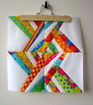 Happy Turtle: Eastern Sunrise - Free Paper Piecing Pattern!!!