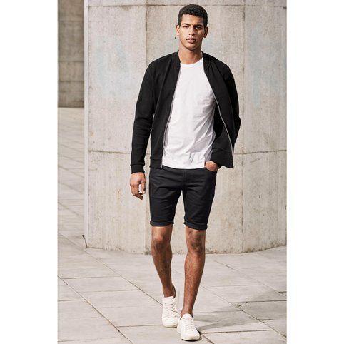 Short skinny en jean homme Next - 3Suisses