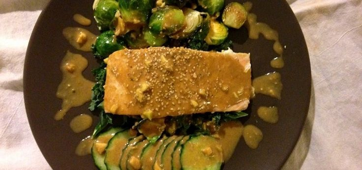 Magic Miso Almond Sauce That Tastes Great On Everything (substitute stevia for the honey)