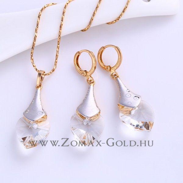 Rubina szett - Zomax Gold divatékszer www.zomax-gold.hu