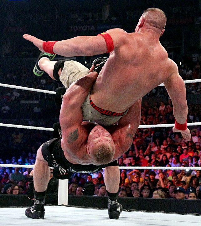 Brock Lesnar vs. John Cena