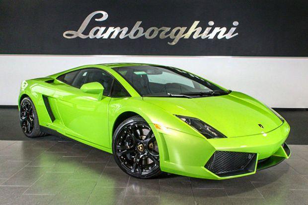 2014 Lamborghini Gallardo Green
