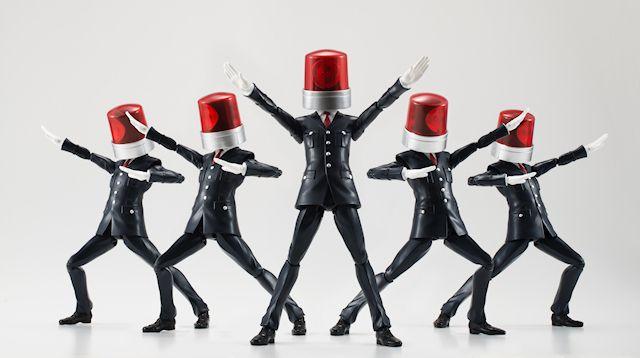 画像3 劇場CM「NO MORE 映画泥棒」、カメラ男とパトランプ男が可動フィギュアに! 予約受付開始 - アキバ総研